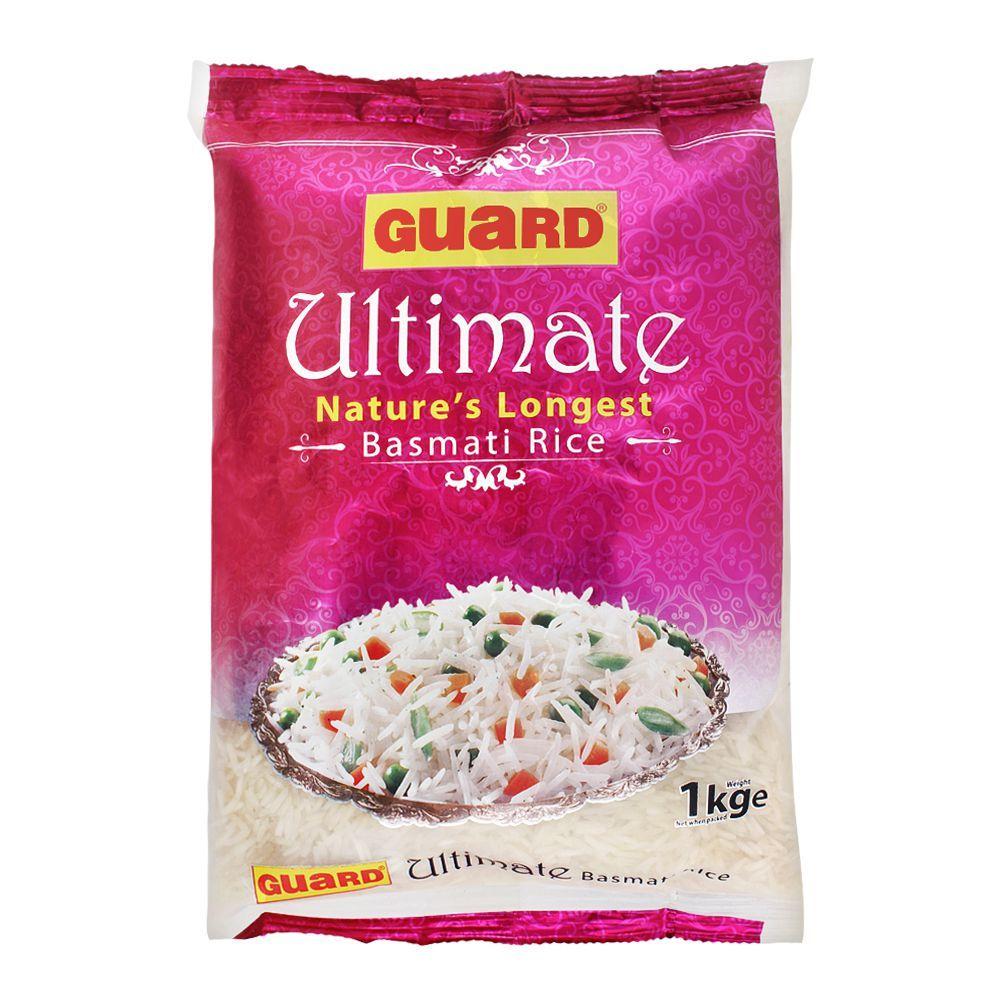 Guard Ultimate Basmati Rice, Nature's Longest, 1 KG