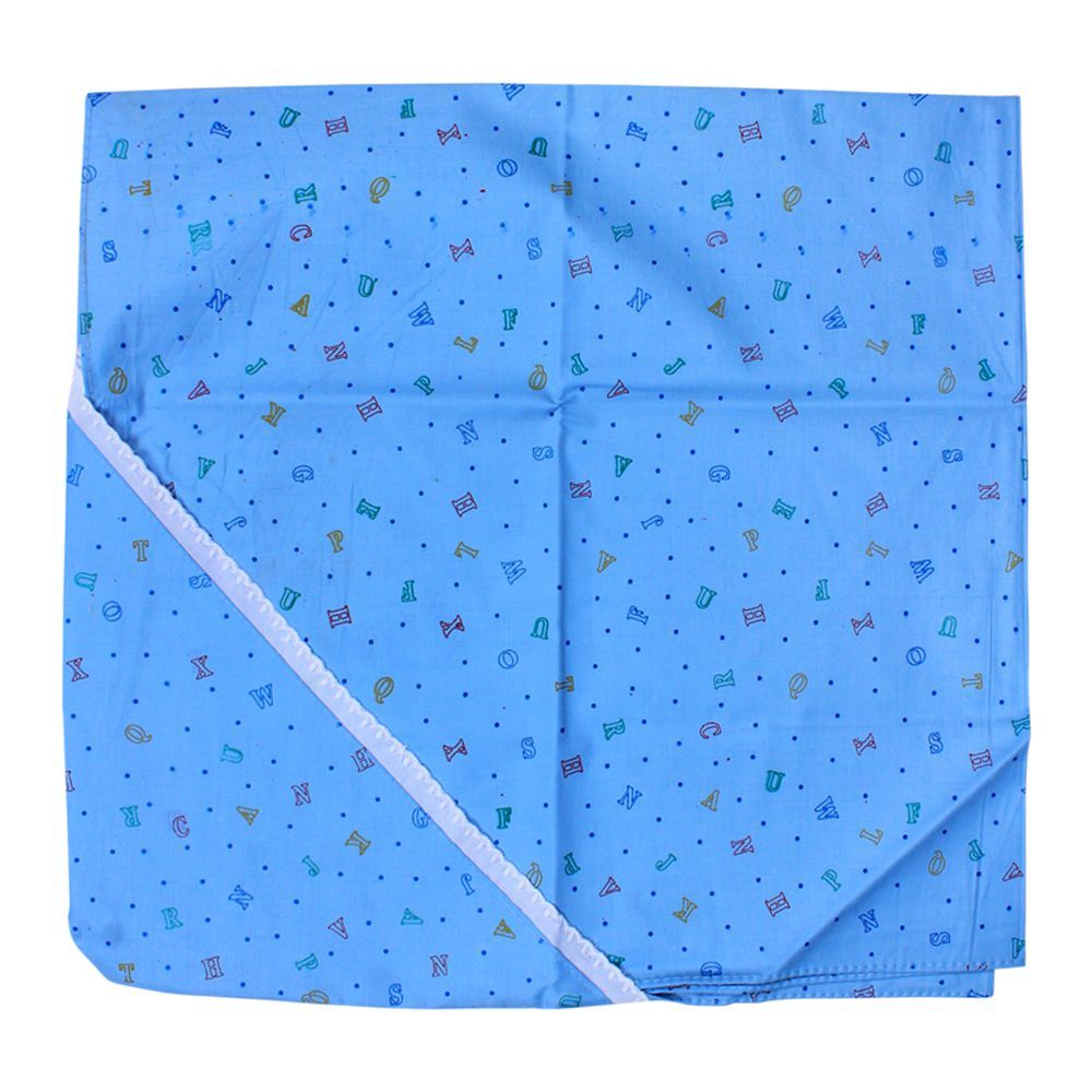 Angel's Kiss Baby Wrapping Sheet, Blue