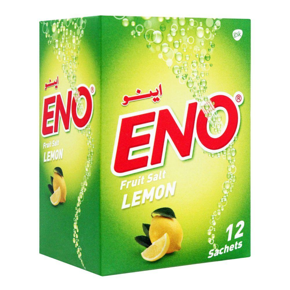 Eno Fruit Salt Lemon Sachet, 12x5g