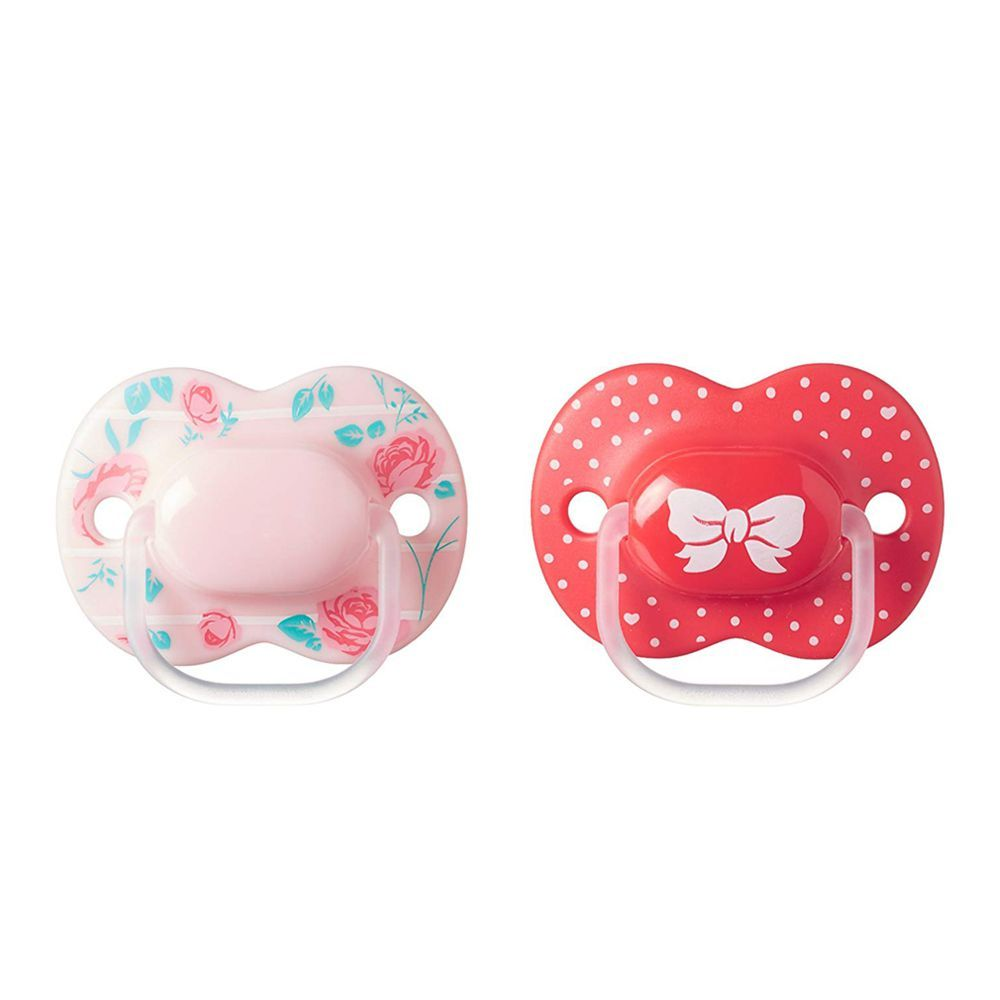 Tommee Tippee Little London Orthodontic Soothers, 6-18m, 2-Pack, 433417/38