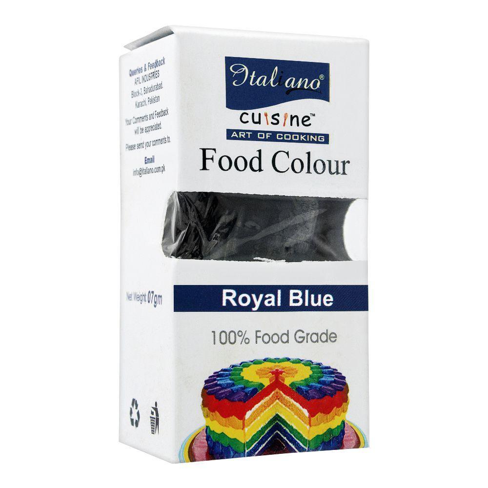 Italiano Food Colour, Royal Blue, 07g