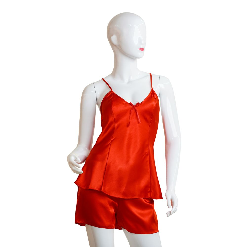 Moon Girl Nighty For Women, Red, 5011