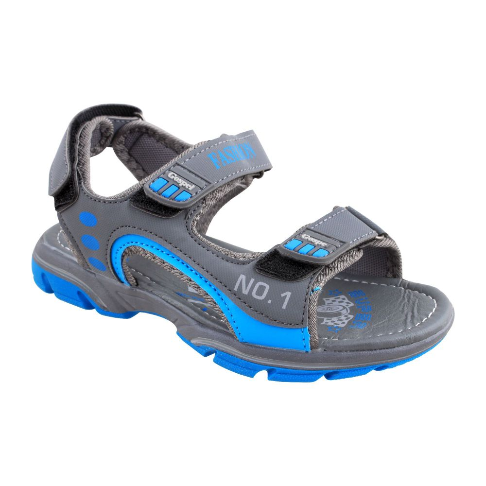 Kids Sandals, For Boys, S-221, Grey