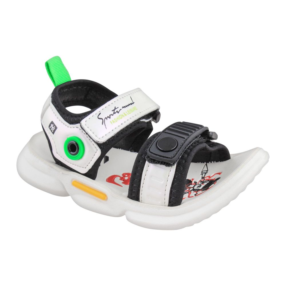 Kids Sandals, For Boys, 3808, White