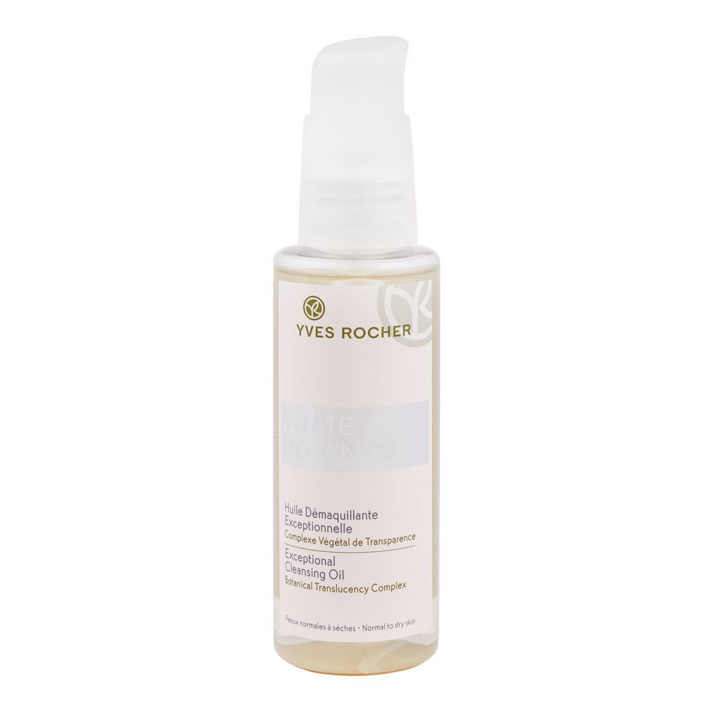 Yves Rocher White Botanical Exceptional Cleansing Oil, Normal To Dry Skin, 100ml