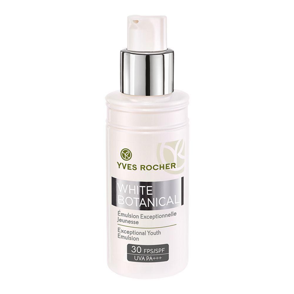 Yves Rocher White Botanical Exceptional Youth Emulsion, SPF 30 UVA PA+++, 50ml