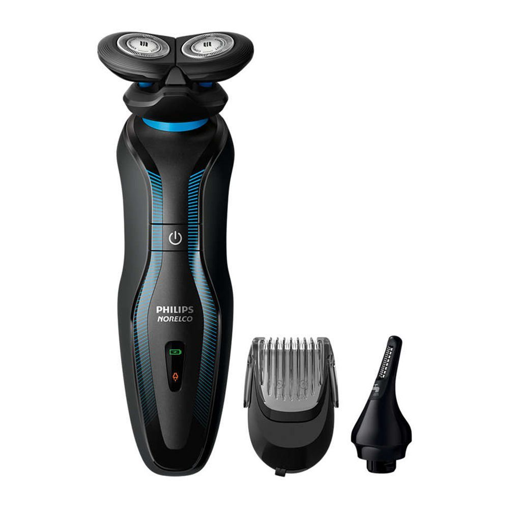 Philips Norelco 3-In-1 Click & Style Shaver, Styler & Trimmer, S740/80