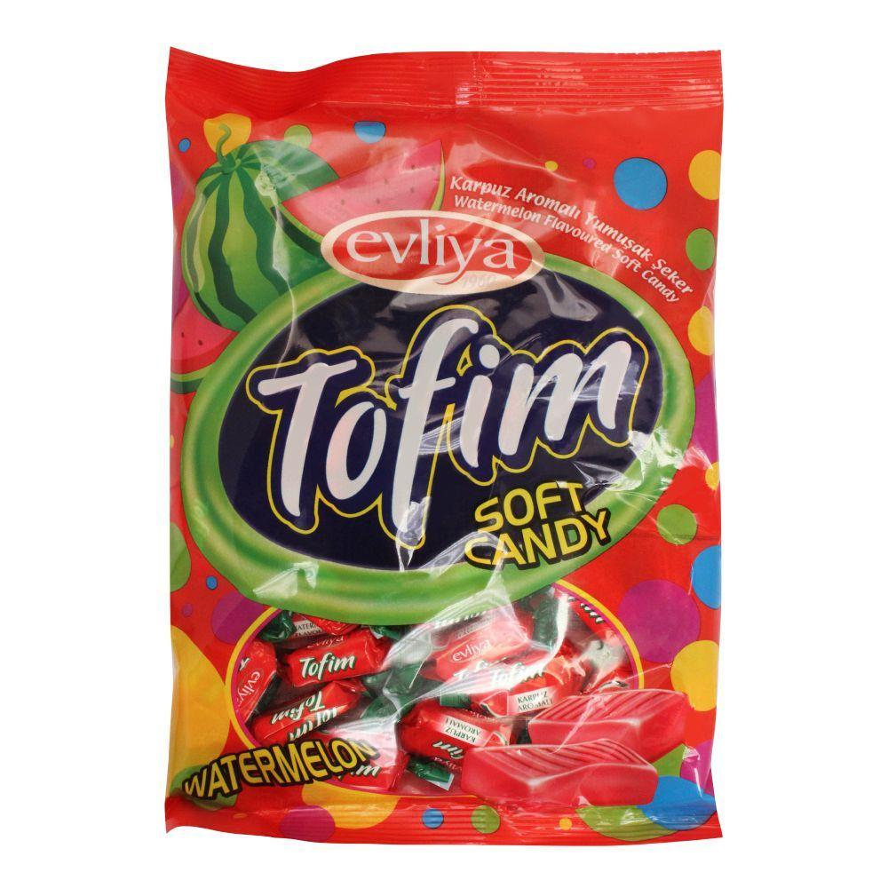 Evliya Tofim Soft Candy, Watermelon, Pouch, 350g