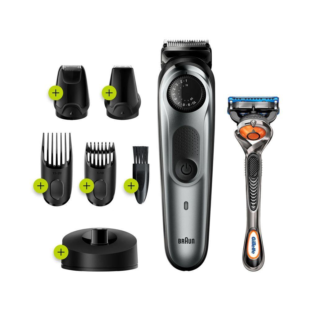 Braun Beard Trimmer 7, Rechargeable, 39 Length Settings, Black, BT7240