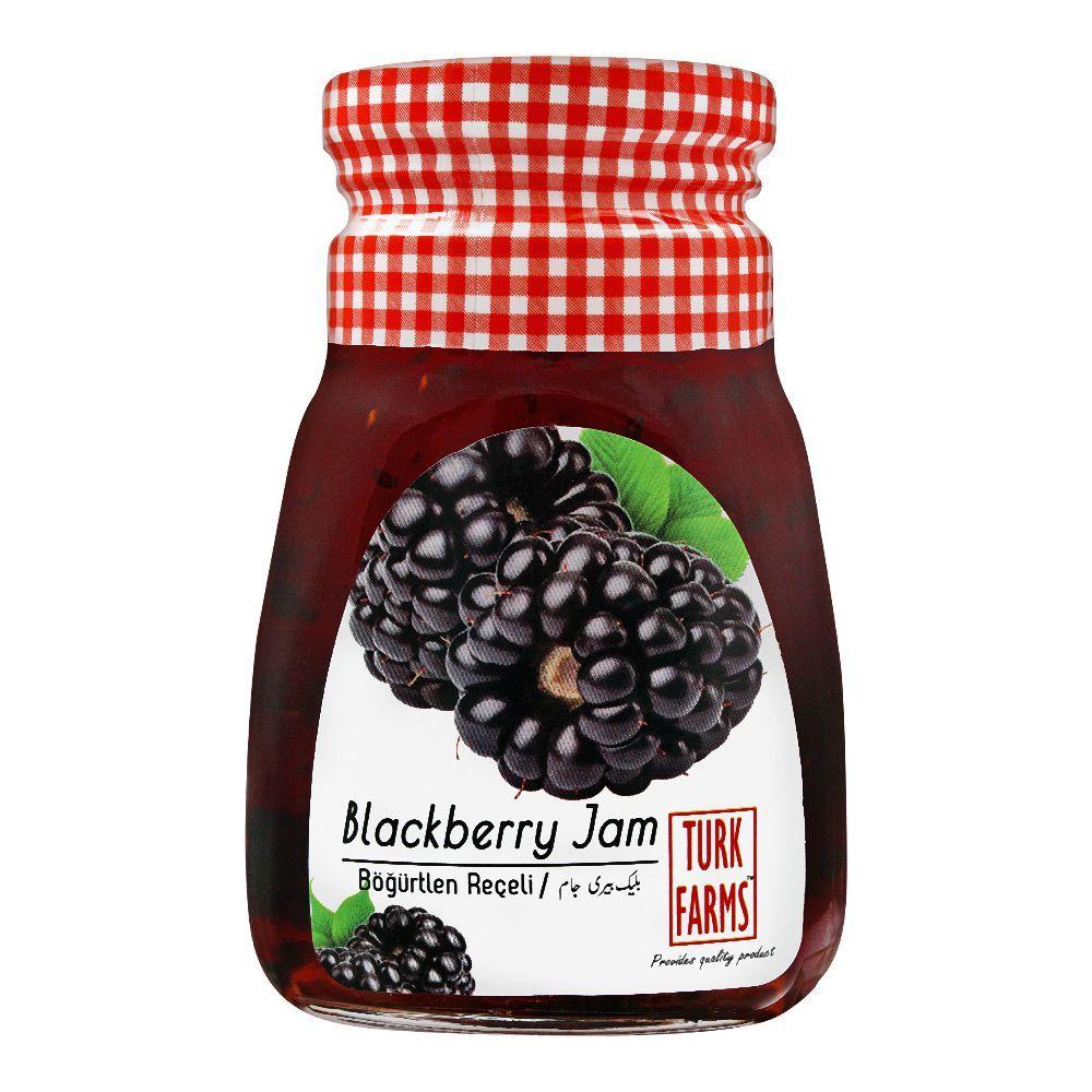 Turk Farms Blackberry Jam, 360g