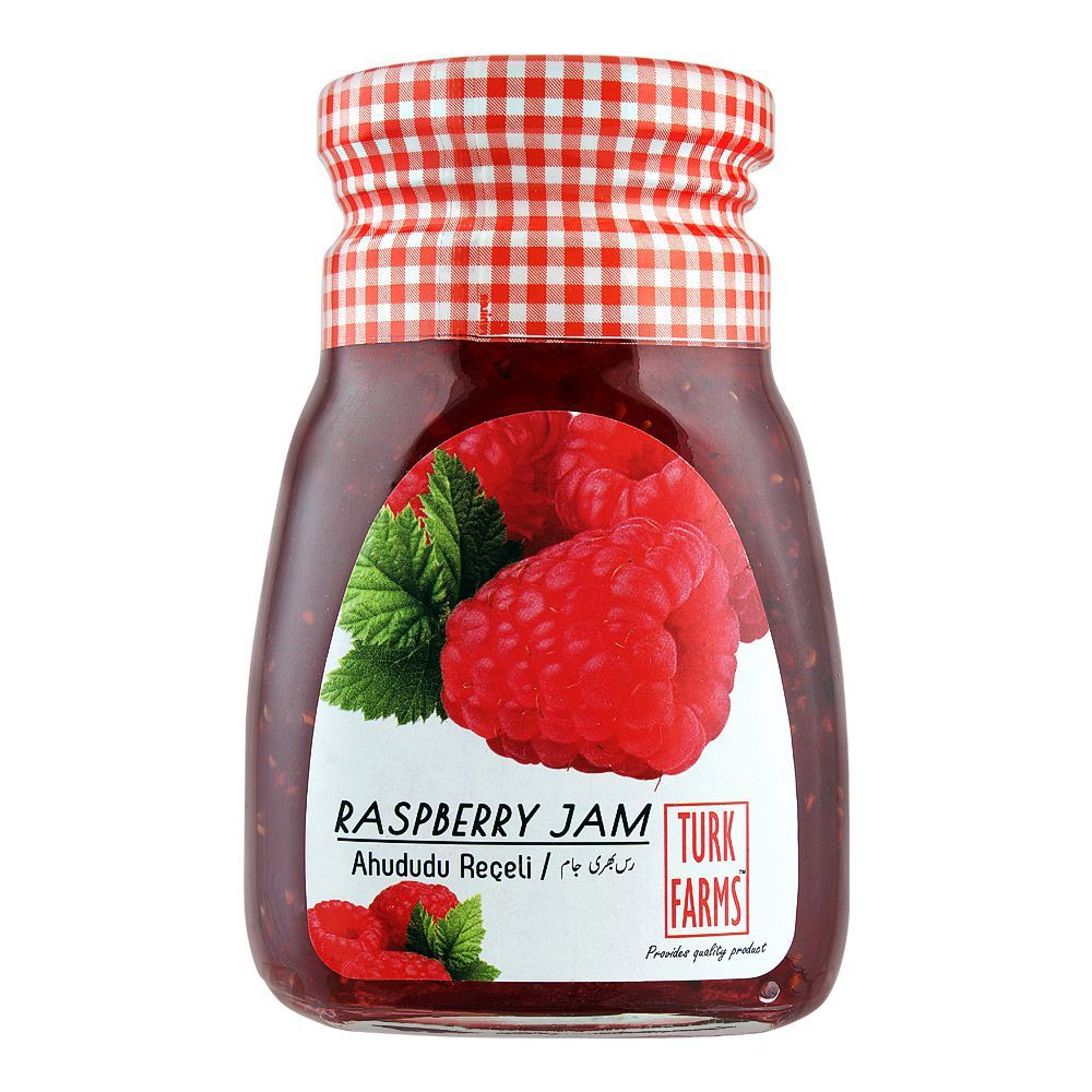 Turk Farms Raspberry Jam, 360g