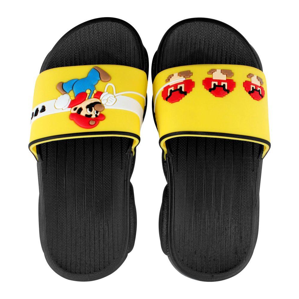 Kid's Slippers, G-24, Black