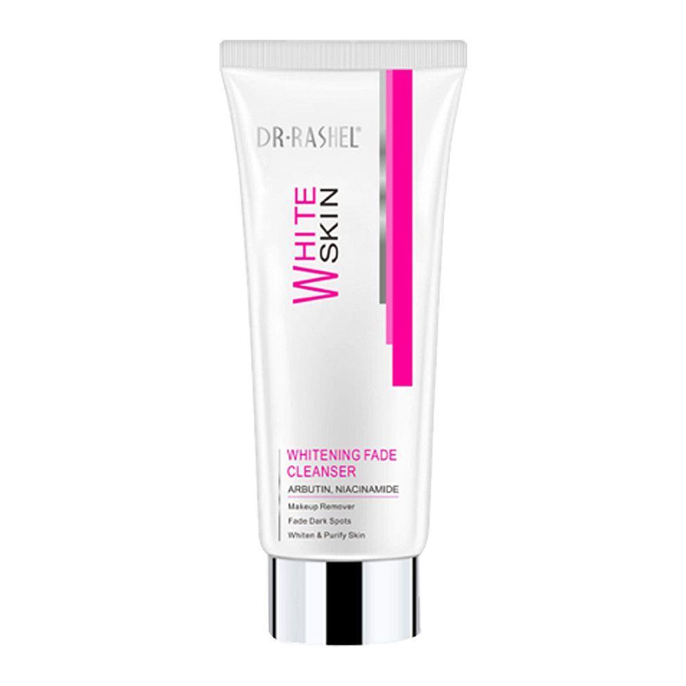 Dr. Rashel White Skin Whitening Fade Cleanser, Makeup Remover + Fade Dark Spots, 80g
