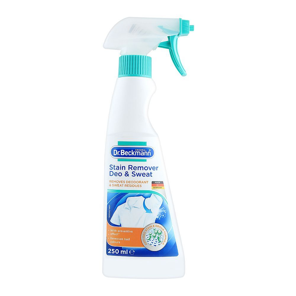 Dr. Beckmann Stain Remover Deo & Sweat, 250ml