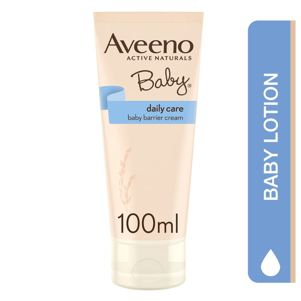 Aveeno Active Naturals Baby Daily Care Baby Barrier Cream, Unscented, 100ml