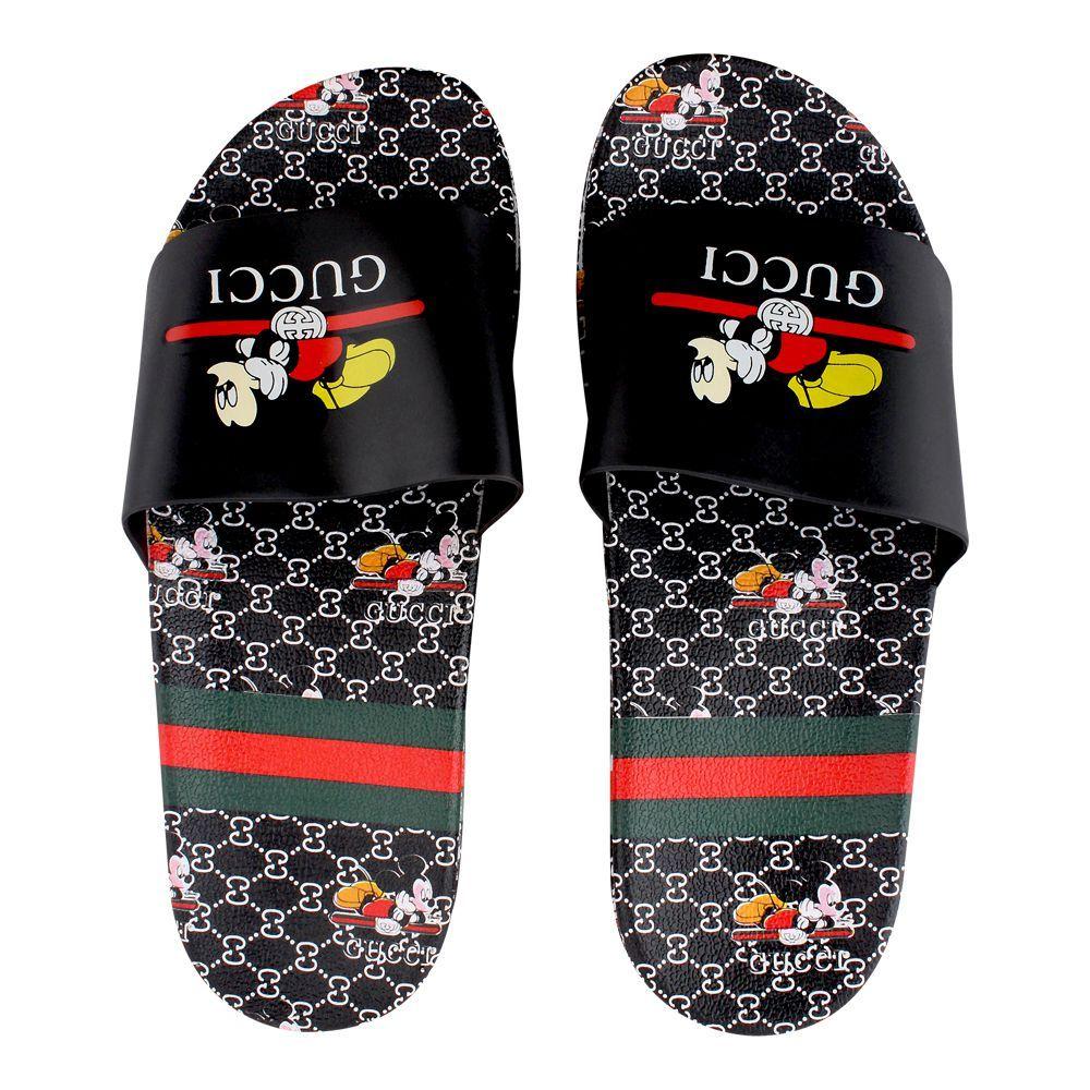 Women's Slippers, H-4, Black