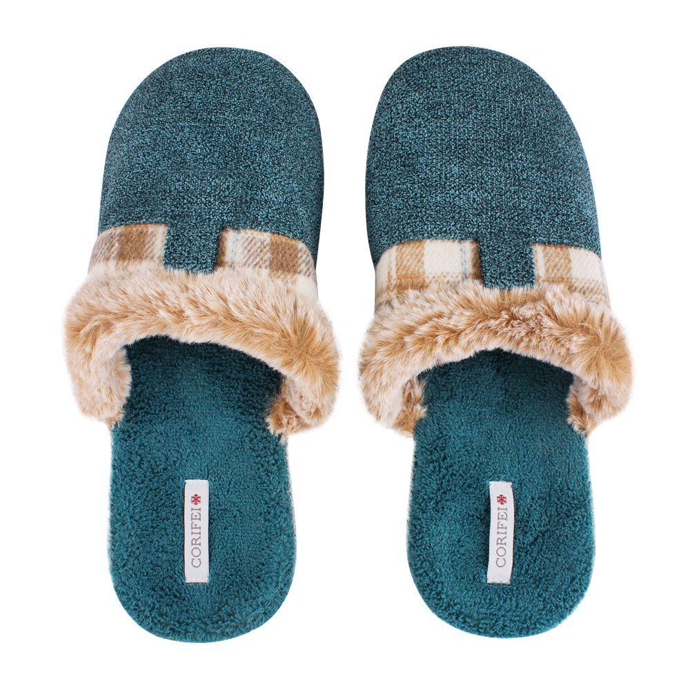 Women's Slippers, H-11, Blue