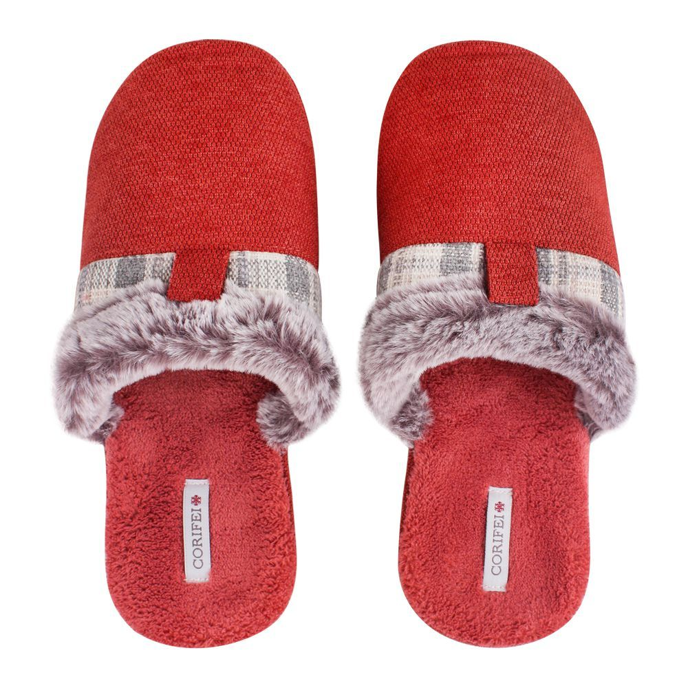Women's Slippers, H-11, Red