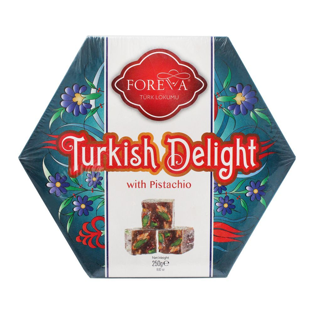 Foreva Turkish Delight With Pistachio, 250g LOK-6022