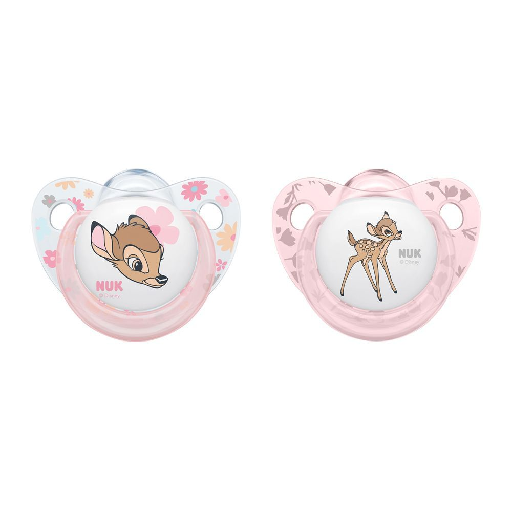 Nuk Disney Baby Silicone Soother, 0-6m, 10175244