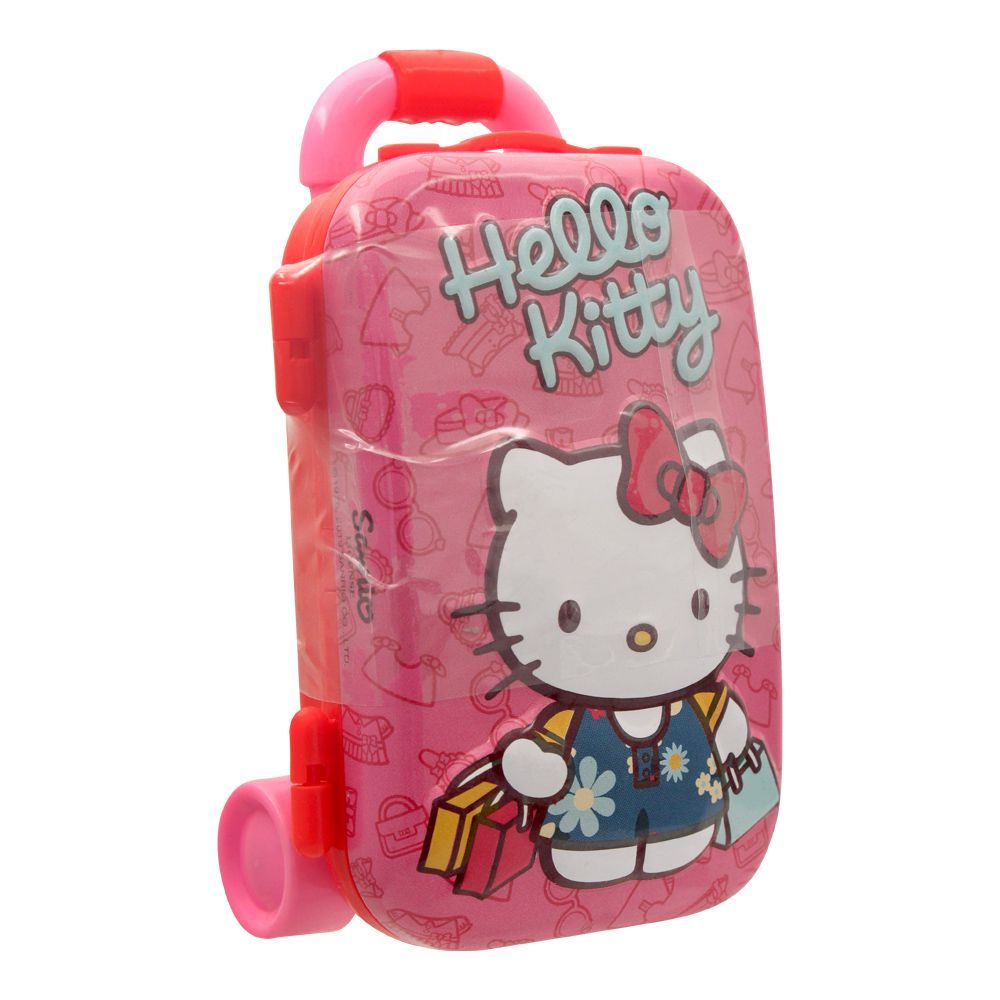 Hello Kitty Luggage Tin With Jelly Candies, 44801
