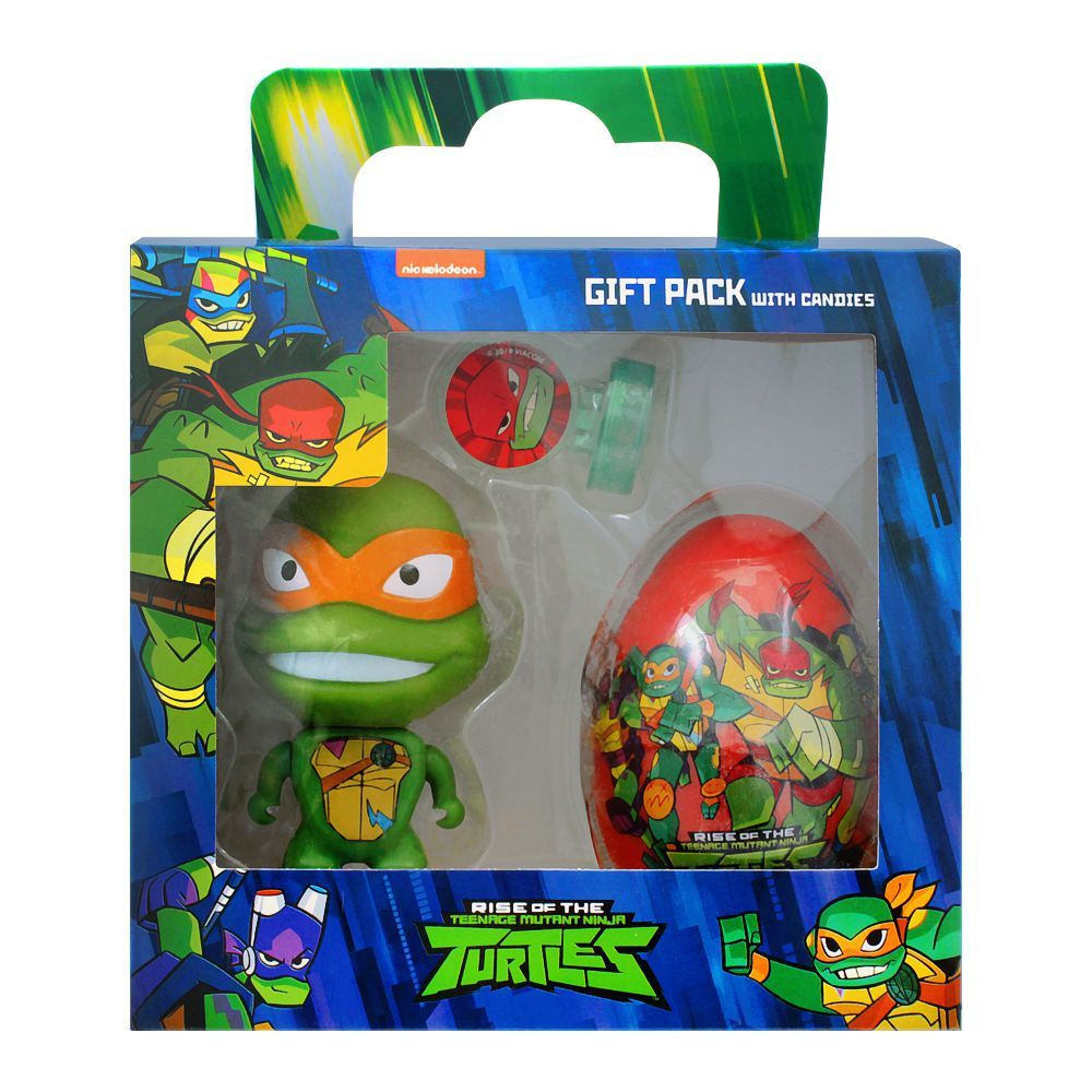 Rise Of The Teenage Mutant Ninja Turtles Gift Pack With Candies, 57207