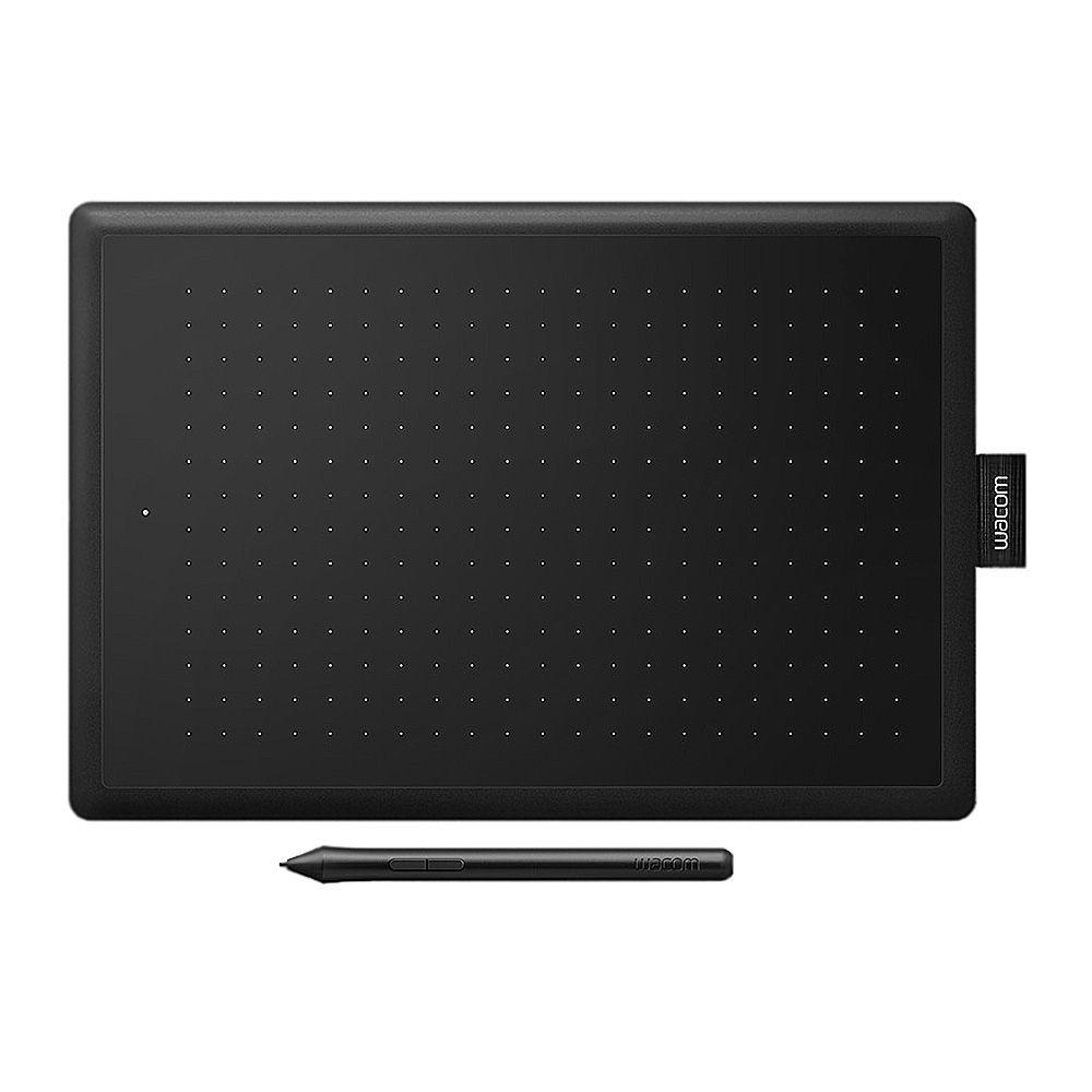 One By Wacom Creative Pen Tablet, Small, Black, CTL-472/KO-C
