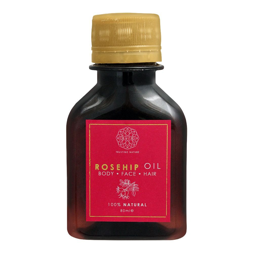 Aura Crafts Trusting Nature Rosehip Oil, Body + Face + Hair, 80ml