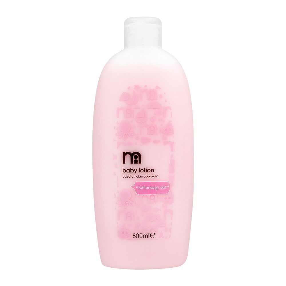 Mothercare Mild & Gentle Soft On Baby Skin Baby Lotion, Imported, 500ml