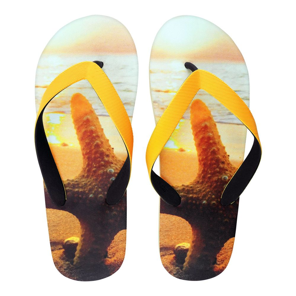 Men's Slippers, I-4, Yellow