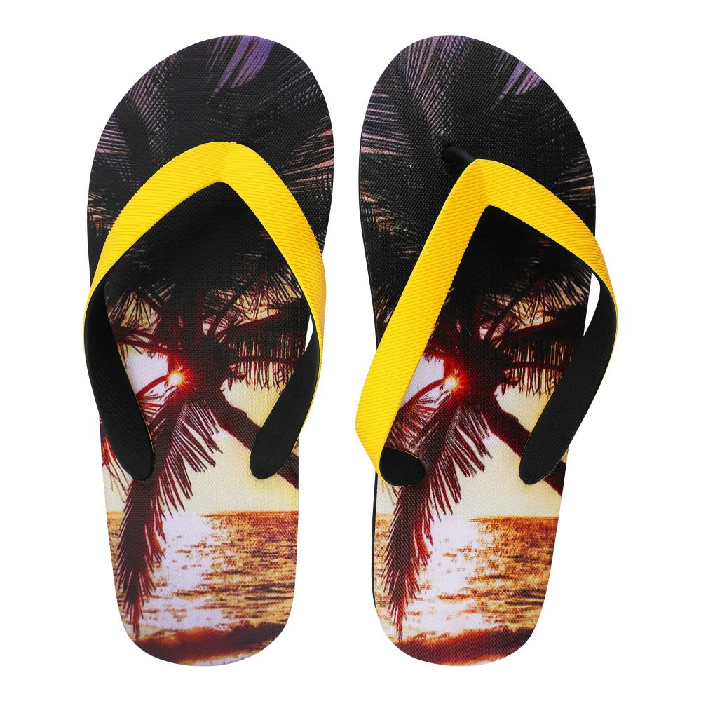 Men's Slippers, I-5, Yellow