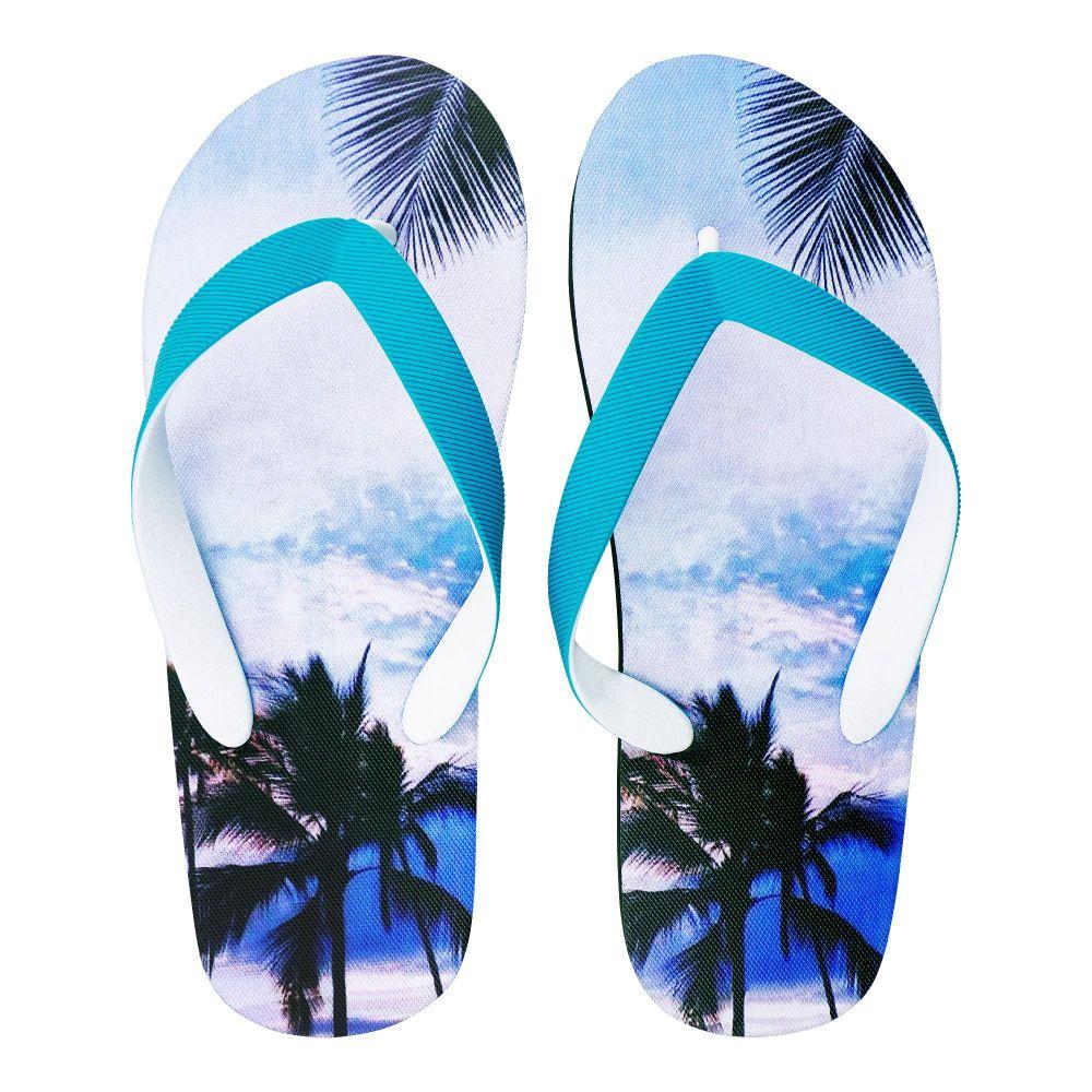 Men's Slippers, I-7, Blue