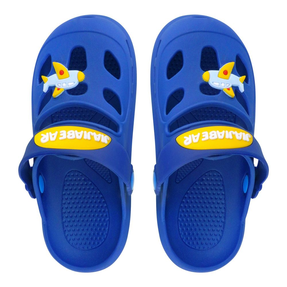Kid's Slippers, I-16, Blue
