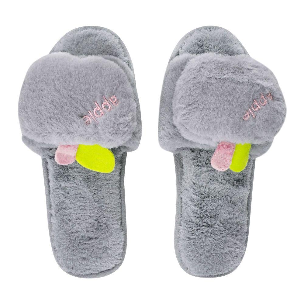 Women's Slippers, I-17, Grey