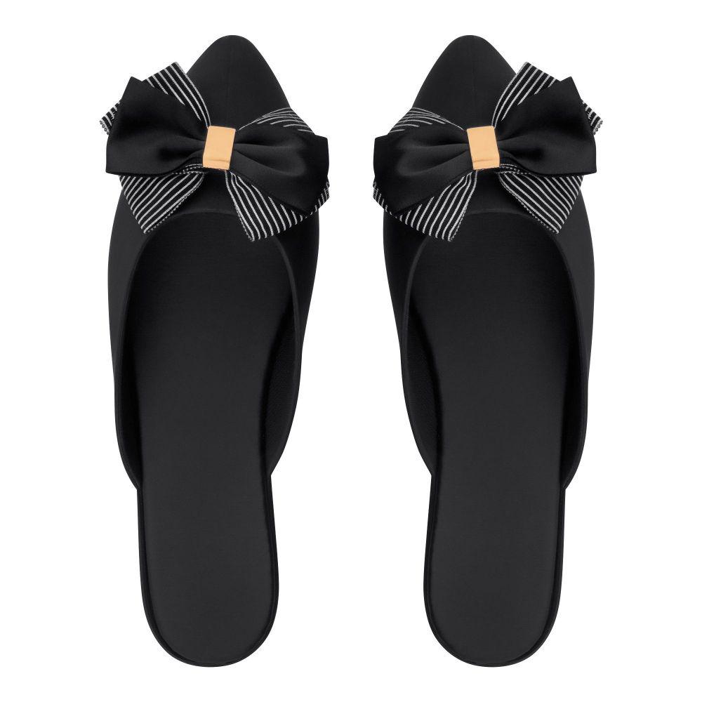 Women's Slippers, I-27, Black