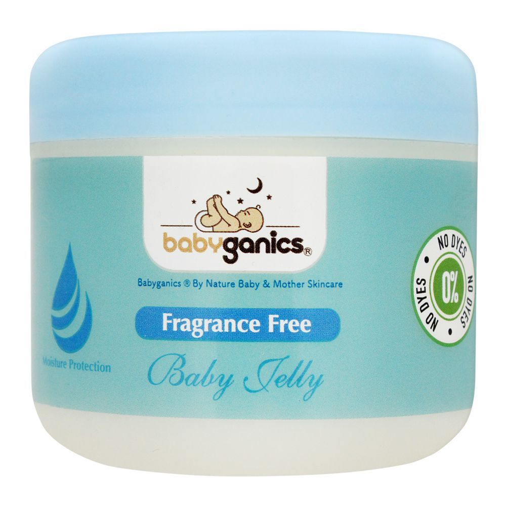 Baby Ganics Fragrance Free Baby Jelly, 300ml