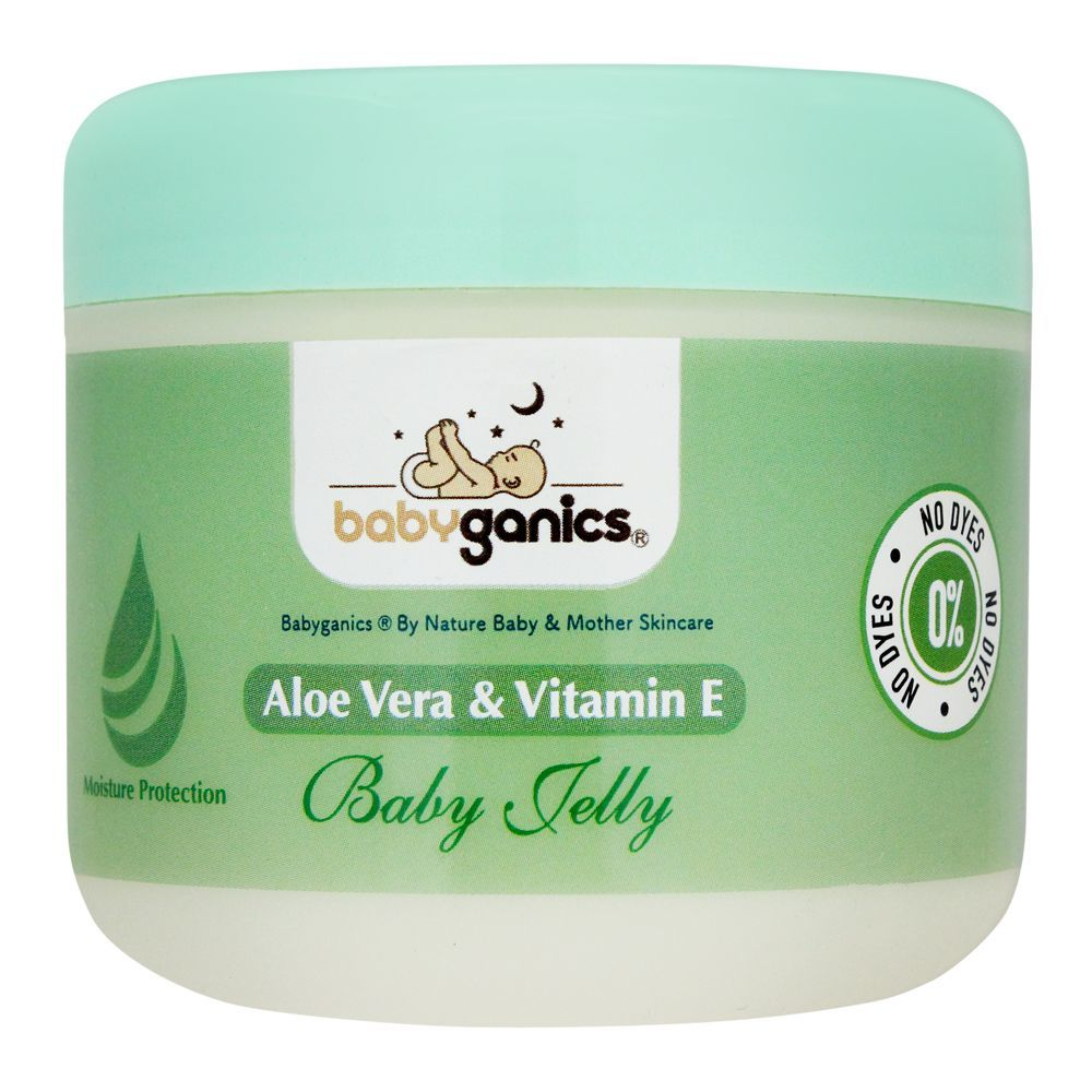 Baby Ganics Aloe Vera & Vitamin E Baby Jelly, 300ml