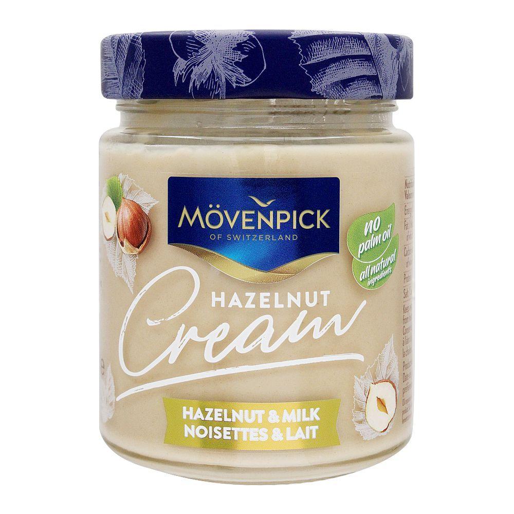 Movenpick Hazelnut & Milk Cream Spread, 300g