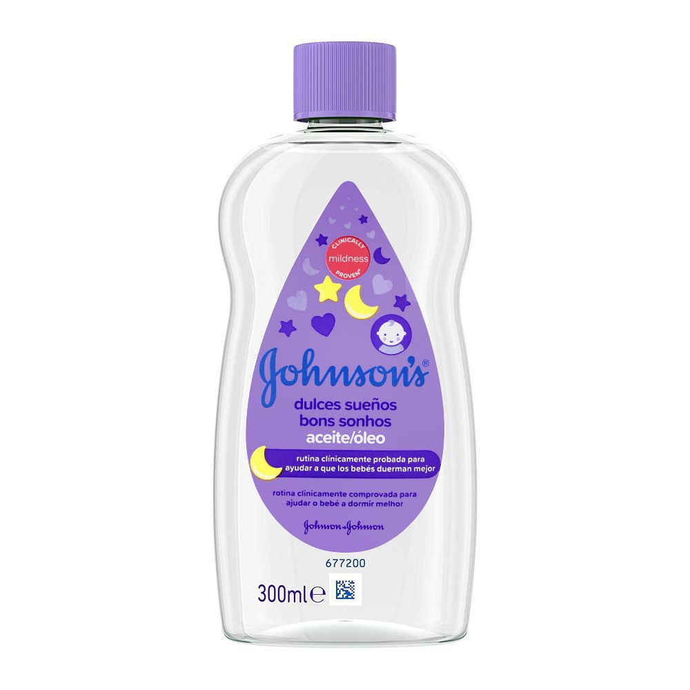 Johnson's Sweet Dreams Baby Oil, Imported, 300ml