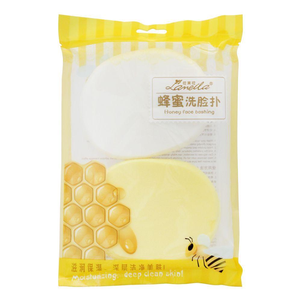 Lameila Honey Face Bashing Facial Sponge, 2-Pack, B2065