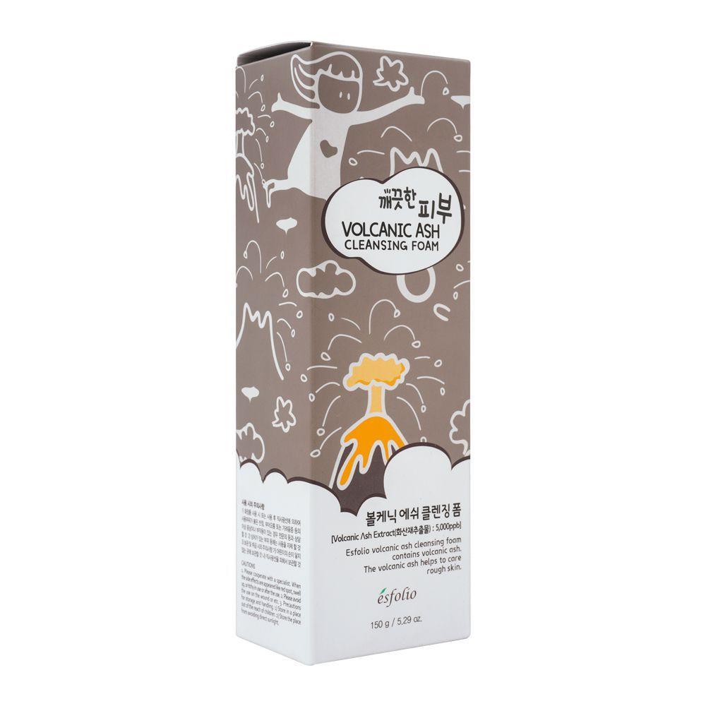 Buy Esfolio Volcanic Ash Cleansing Foam, 150ml Online at
