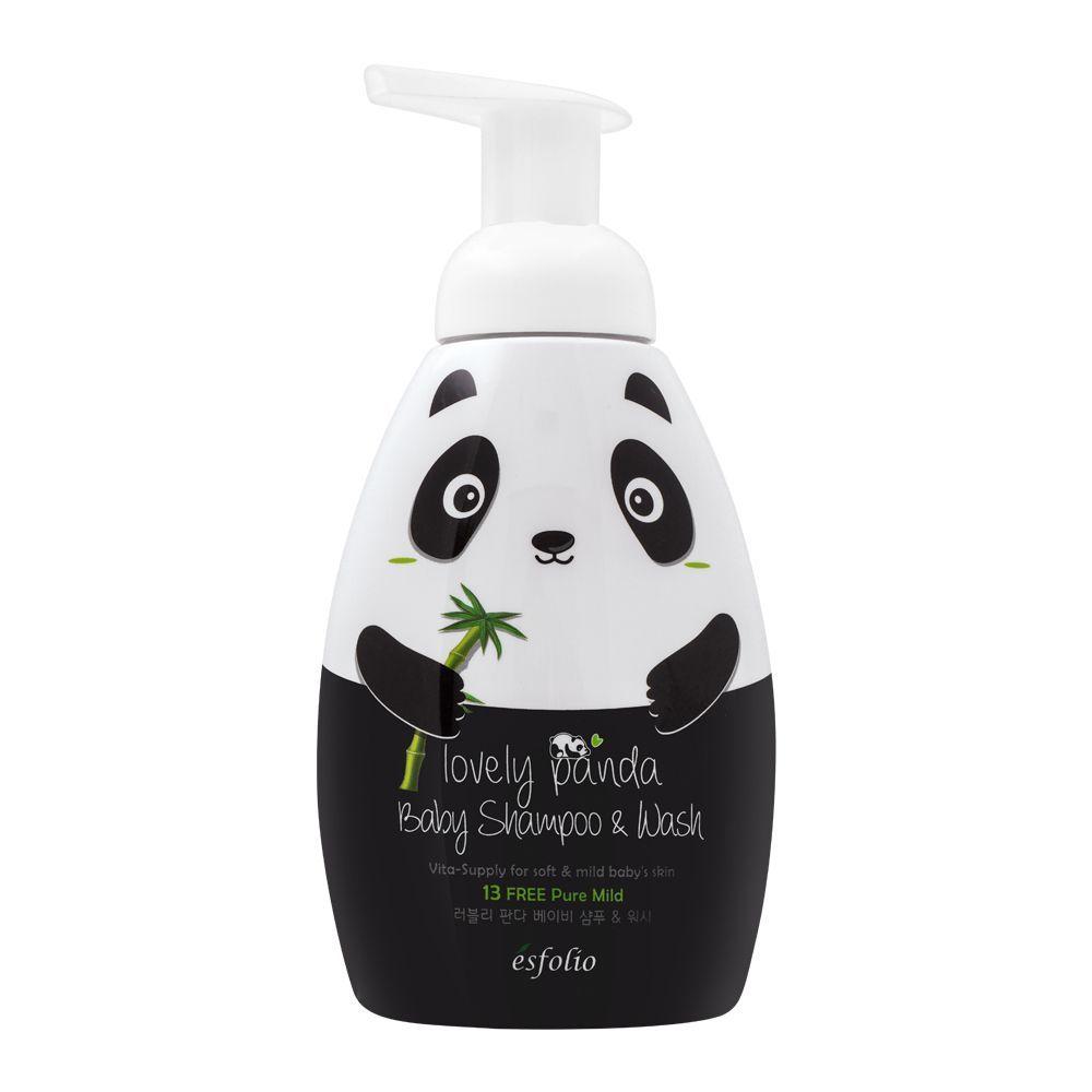 Esfolio Lovely Panda Baby Shampoo & Wash, 430ml