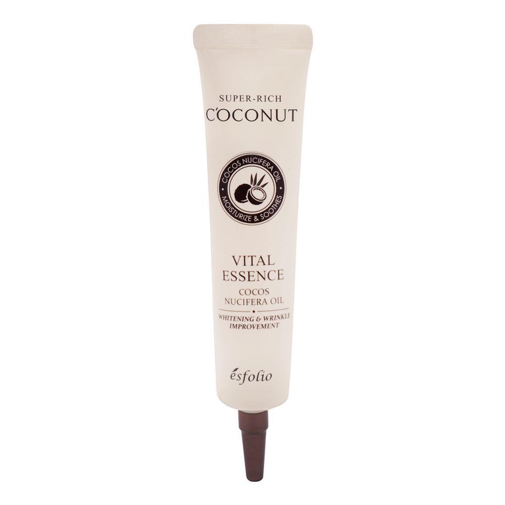 Esfolio Super-Rich Coconut Vital Essence, Whitening & Wrinkle Improvement, 40ml