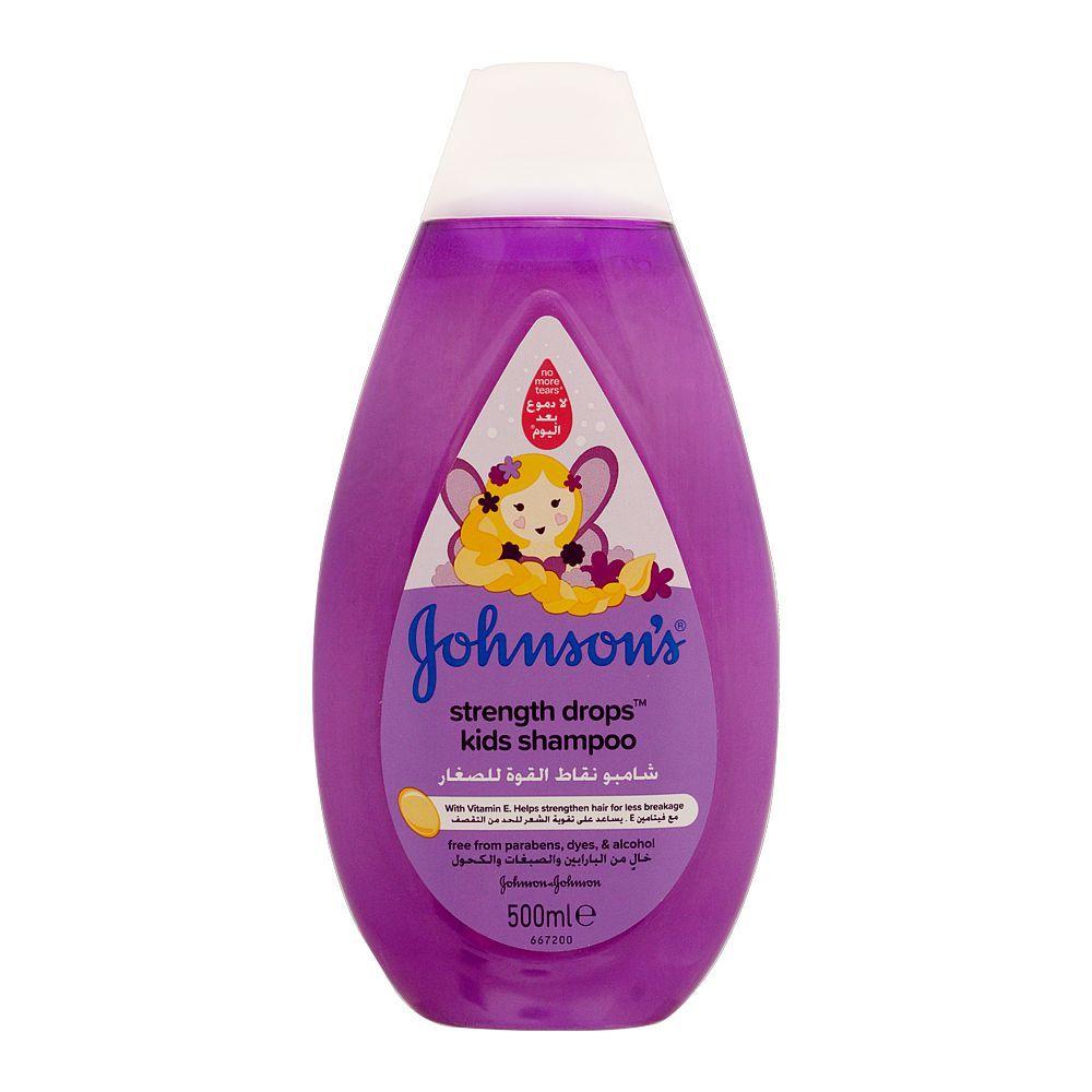 Johnson's Strength Drops Kids Shampoo, Italy, 500ml