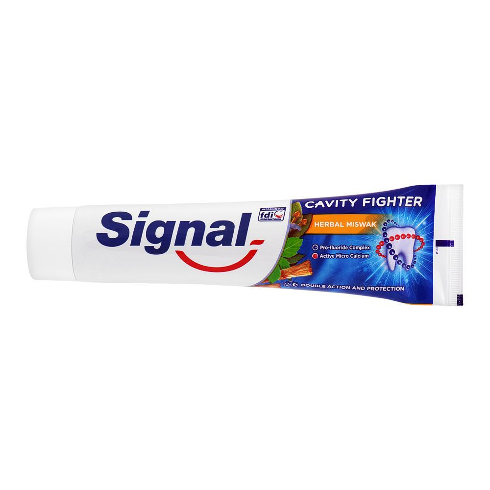 Signal Cavity Fighter Herbal Miswak Toothpaste, 120ml