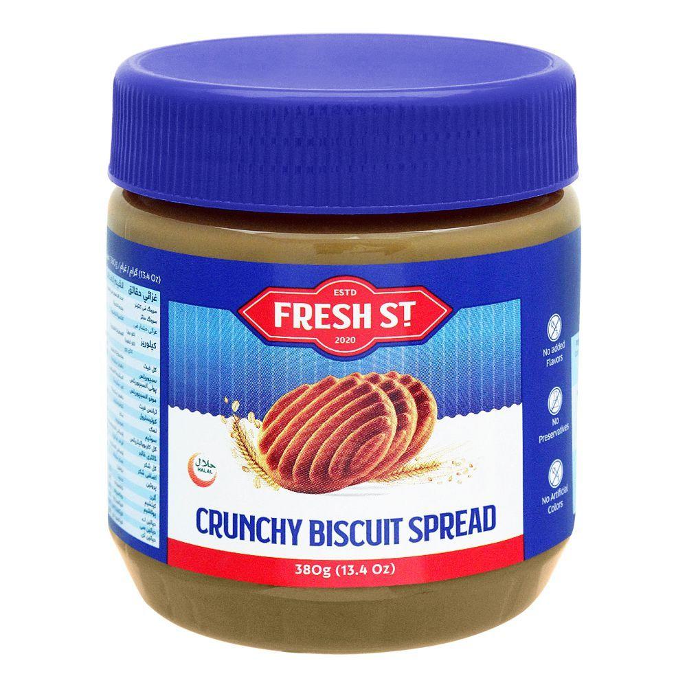 Fresh Street Crunchy Biscuit Spread, 380g