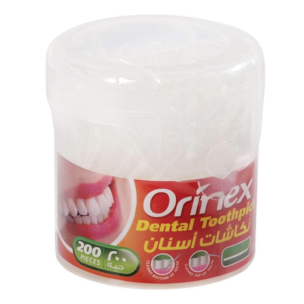Orinex Dental Toothpick, 200-Pack, JS-3200B