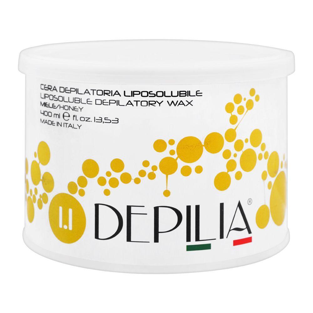 Depilia Honey 1.1 Liposoluble Depilatory Wax, 400ml