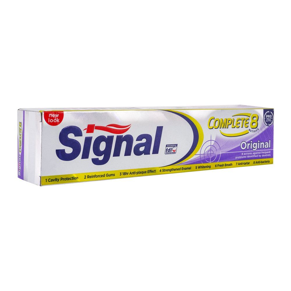 Signal Complete 8 Original Toothpaste, 120ml