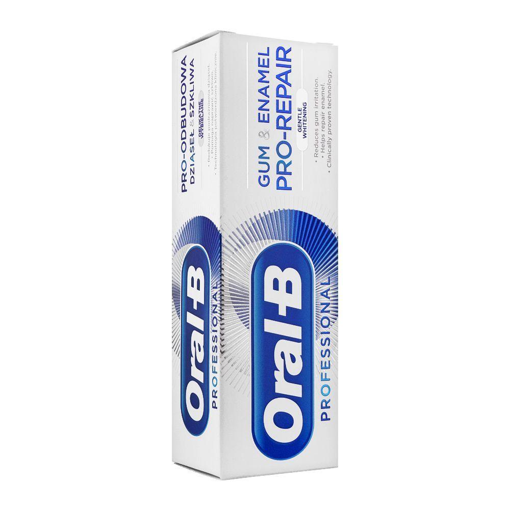 Oral-B Gum & Enamel Pro-Repair Gentle Whitening Toothpaste, 75ml